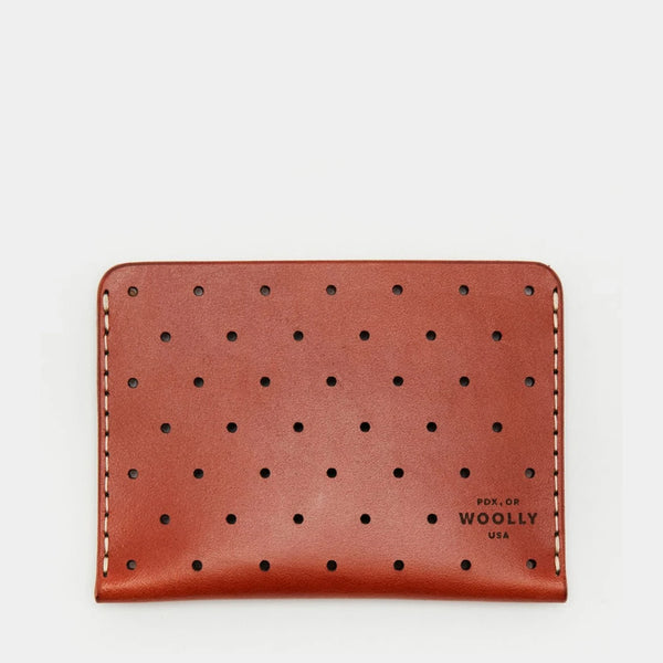 Leather Sleeve Wallet - Brown