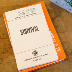 U.S. Army Survival Field Manual - Cool Material