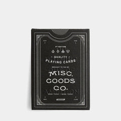 Misc. Goods Playing Cards - <span class='Widget_Products-get_products-price'>$12.00</span>