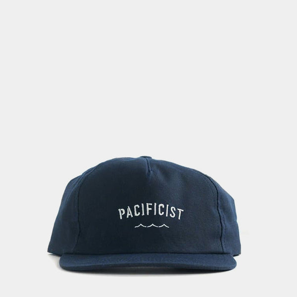 Pacificist Cap - Navy Waxed Canvas