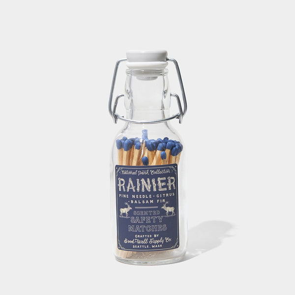 Good & Well Supply Company Rainier Scented Safety Matches