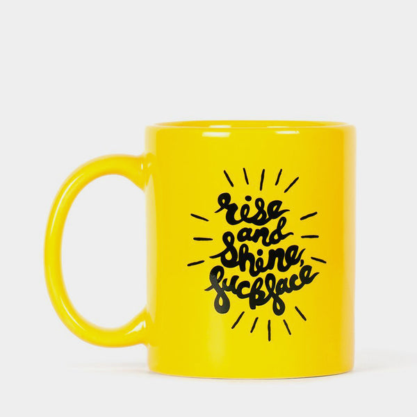 Cool Material Rise and Shine Mug