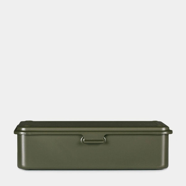 Small Japanese Tool Box Olive Green