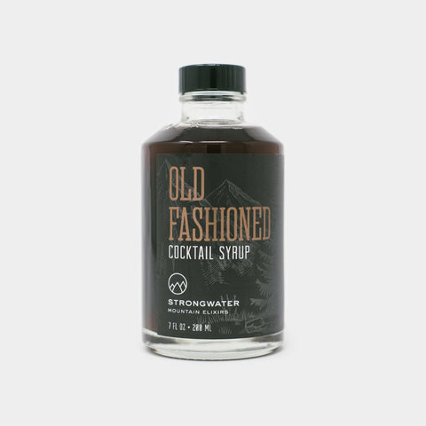 Old Fashioned Cocktail Syrup - Cool Material