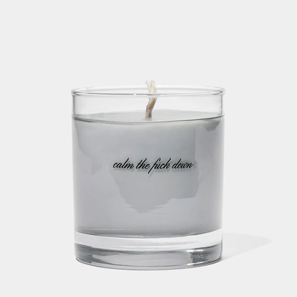 Cool Material The Calm Down Candle