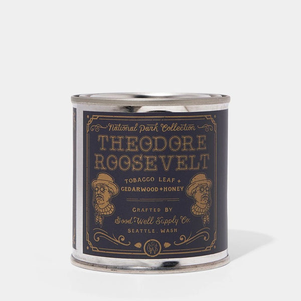 Good & Well Supply Company Theodore Roosevelt Candle