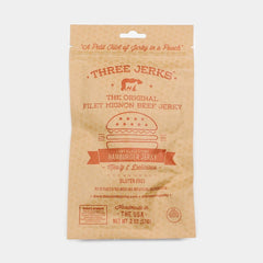 Three Jerks Hamburger Jerky - <span class='Widget_Products-get_products-price'>$10.00</span>