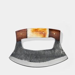 Hand Forged Alaskan Ulu Knife - <span class='Widget_Products-get_products-price'>$50.00</span>