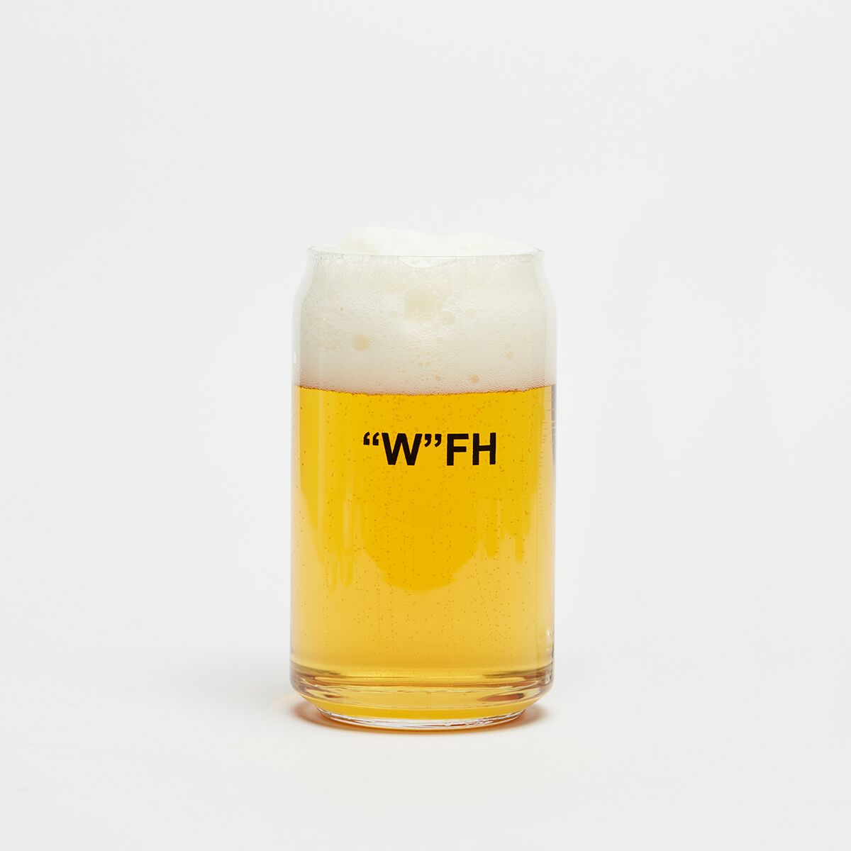 Work From Home Beer Glass (2) - Cool Material