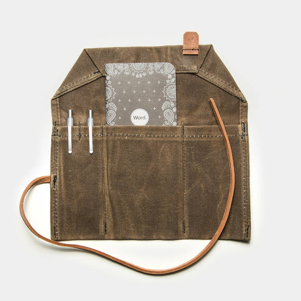 Bradley Mountain Waxed Canvas Utility Roll