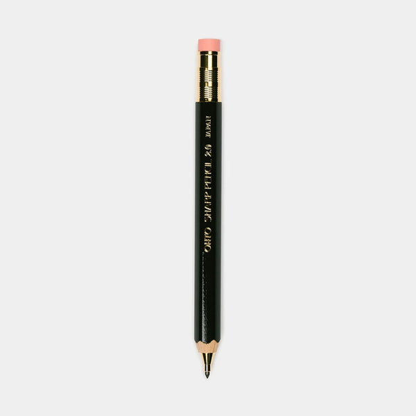 Wooden Mechanical Pencil 2.0 w/ Eraser Black