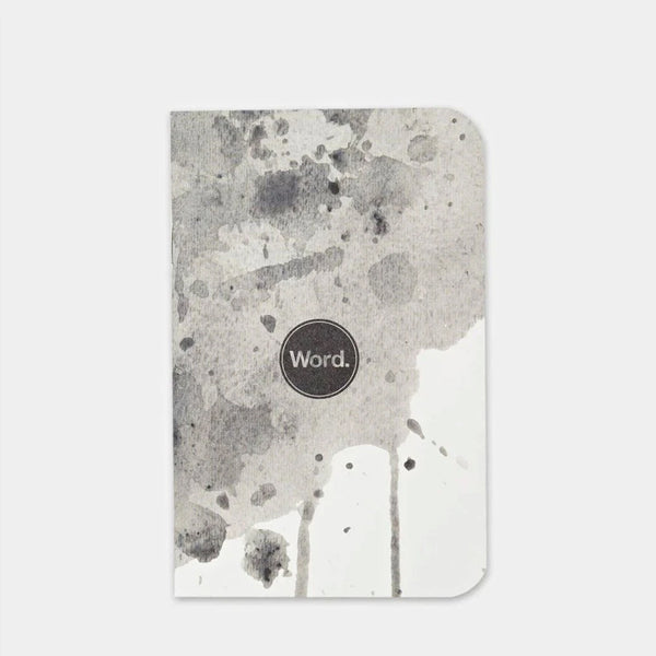 Word. Notebooks Word. Splatter