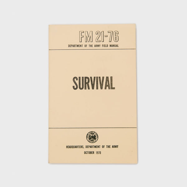 Military Surplus U.S. Army Survival Field Manual