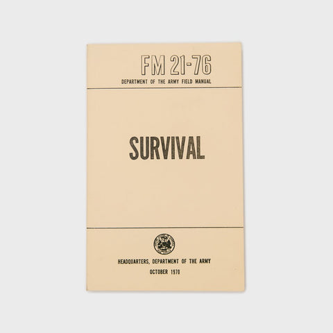 Book - U.S. Army Survival Field Manual