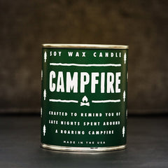 Campfire Candle - Cool Material