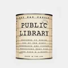 The Public Library Candle