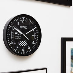 Clock - MWC Altimeter Wall Clock