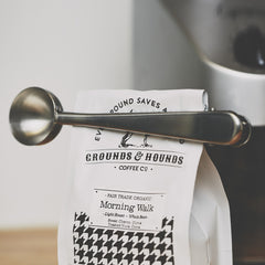 Coffee Scoop Bag Clip - Cool Material