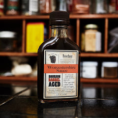 Bourbon Barrel Aged Worcestershire Sauce - Cool Material