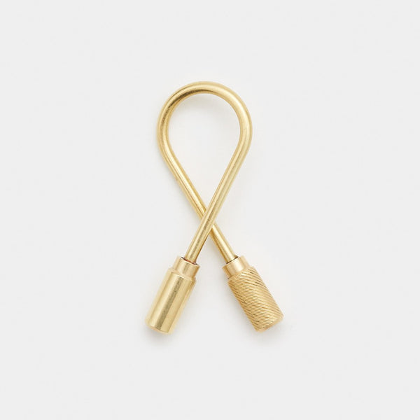 Closed Helix Keyring - Cool Material