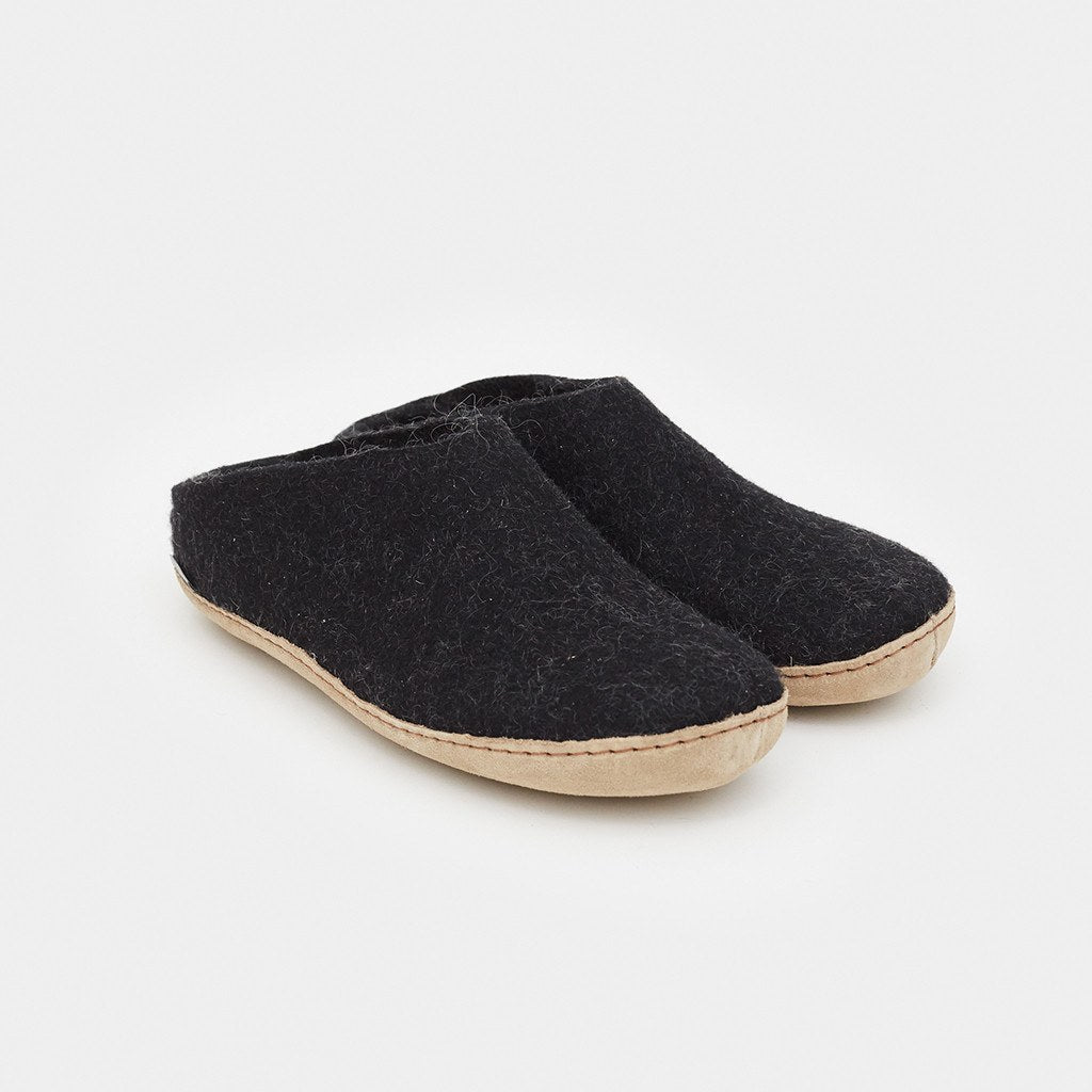 53abb4c9f8 Glerups Slip-Ons - Charcoal by Glerups - Shop Cool Material