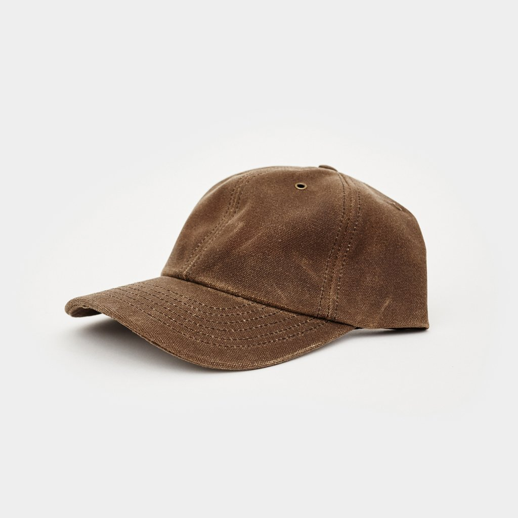 Loyal Stricklin Waxed Canvas Baseball Hat - Moss