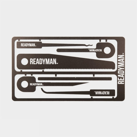 READYMAN Hostage Escape Card - Cool Material