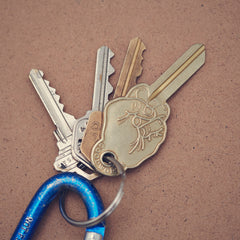 Middle Finger Key Key Chain by Good Worth - Cool Material - 5