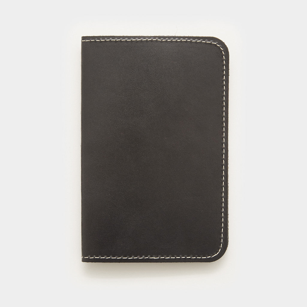 Word. Notebook Leather Cover - Black Leather Cover by Word. Notebooks - Cool Material - 1