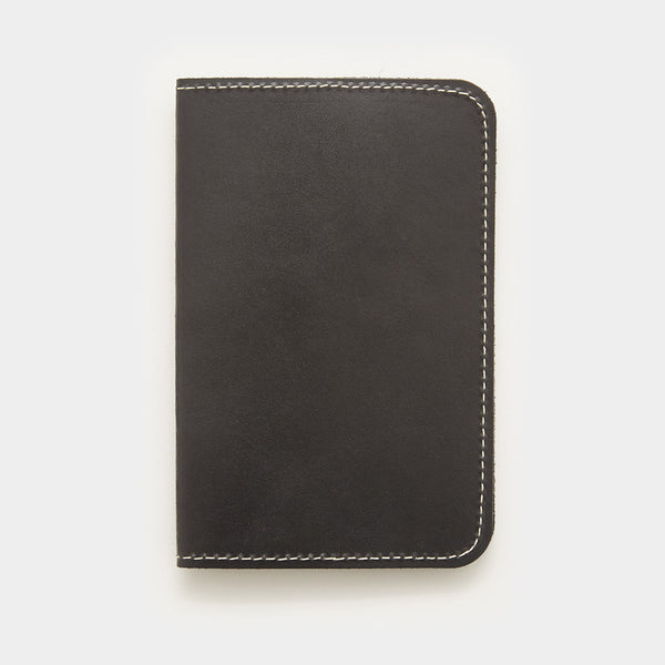 Word. Notebook Leather Cover - Black - Cool Material