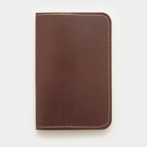 Word. Notebook Leather Cover - Brown - Cool Material
