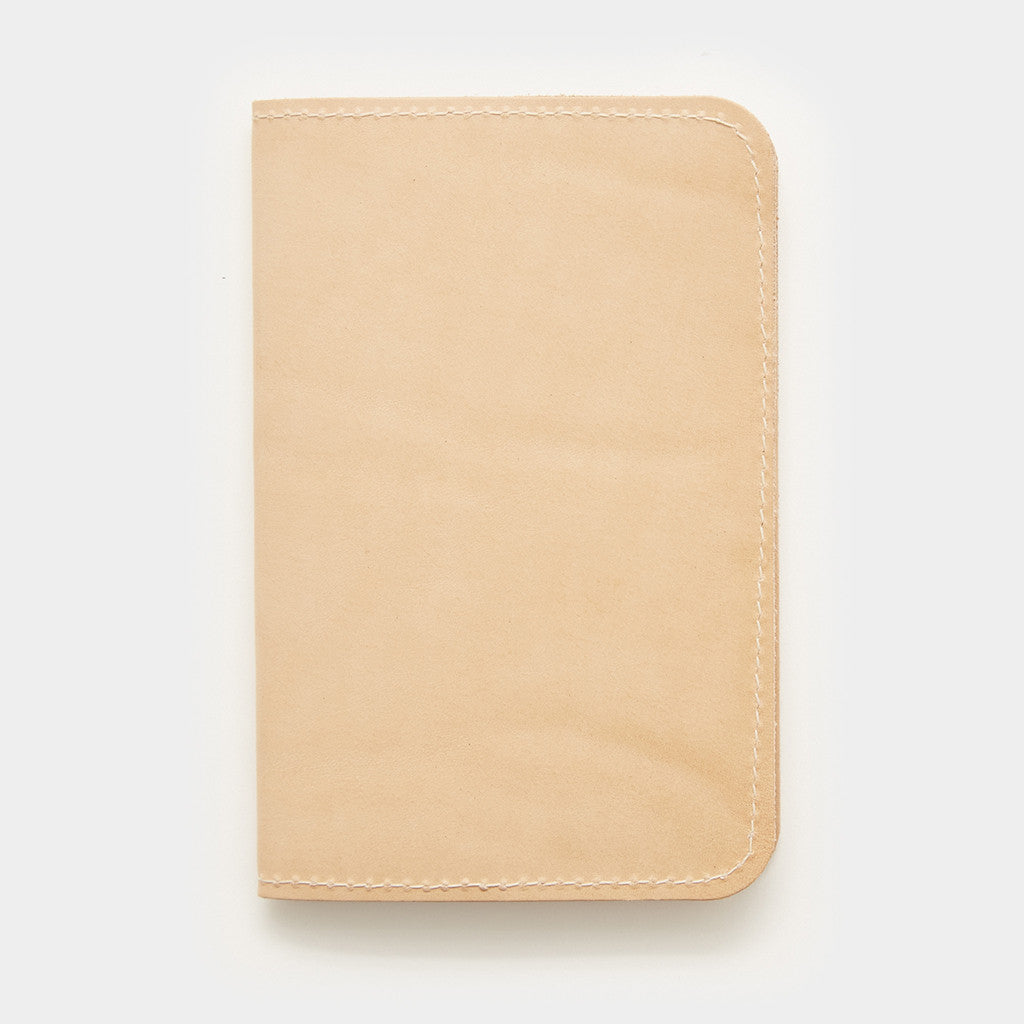 Word. Notebook Leather Cover - Tan Leather Cover by Word. Notebooks - Cool Material - 1