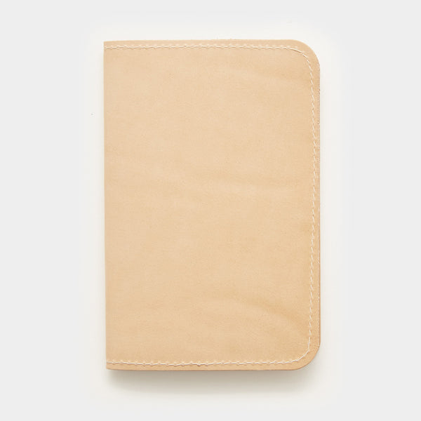 Word. Notebook Leather Cover - Tan - Cool Material