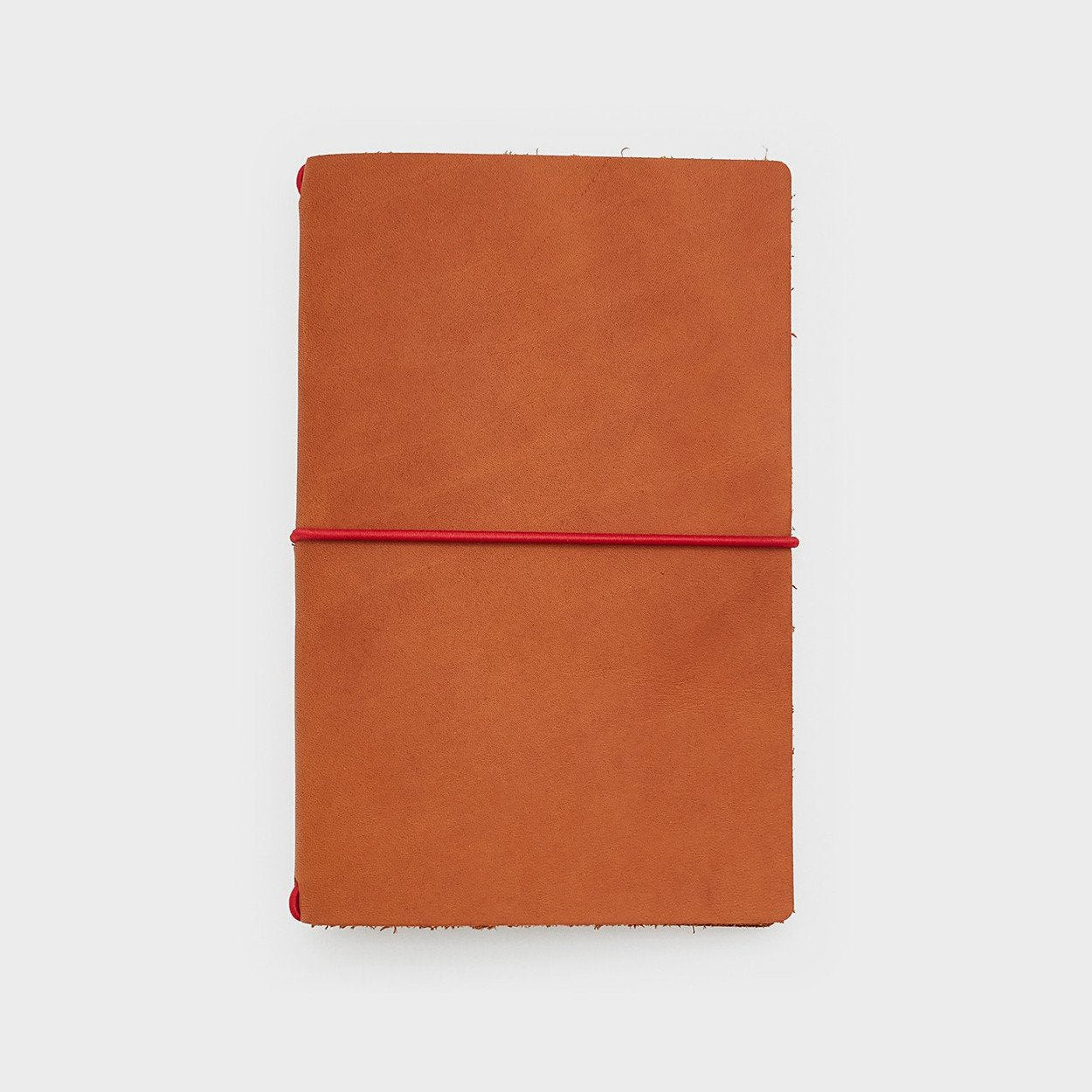 Word. Notebooks Word. Notebook Leather Jacket - Chestnut/Red