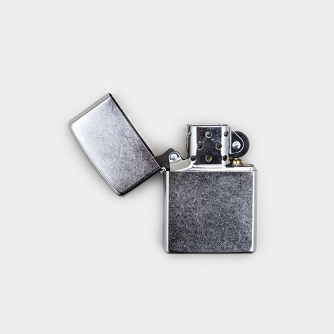 Zippo Lighter - 1941 Replica Brushed Chrome Lighter by Zippo - Cool Material - 1