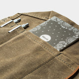 Waxed Canvas Utility Roll organizer by Bradley Mountain - Cool Material - 5