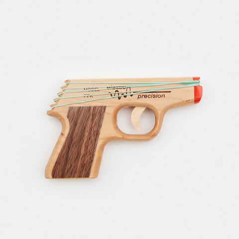 PPK Rubber Band Gun Rubber Band Gun by Elastic Precision - Cool Material - 1