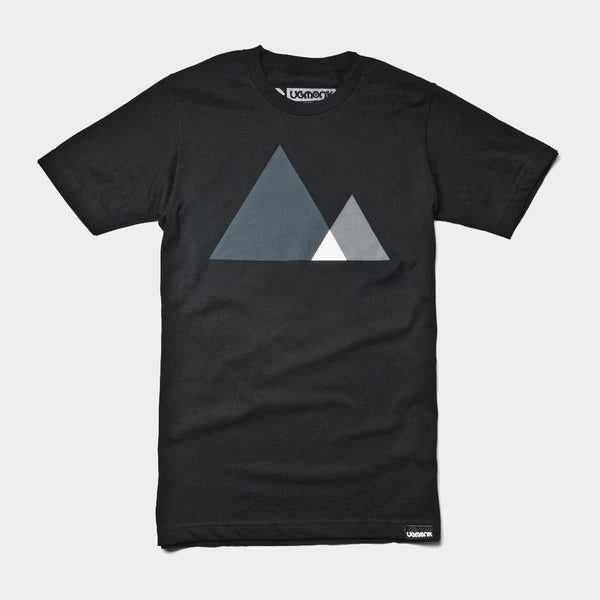 Ugmonk Mountains Black Seires T-Shirt - Cool Material