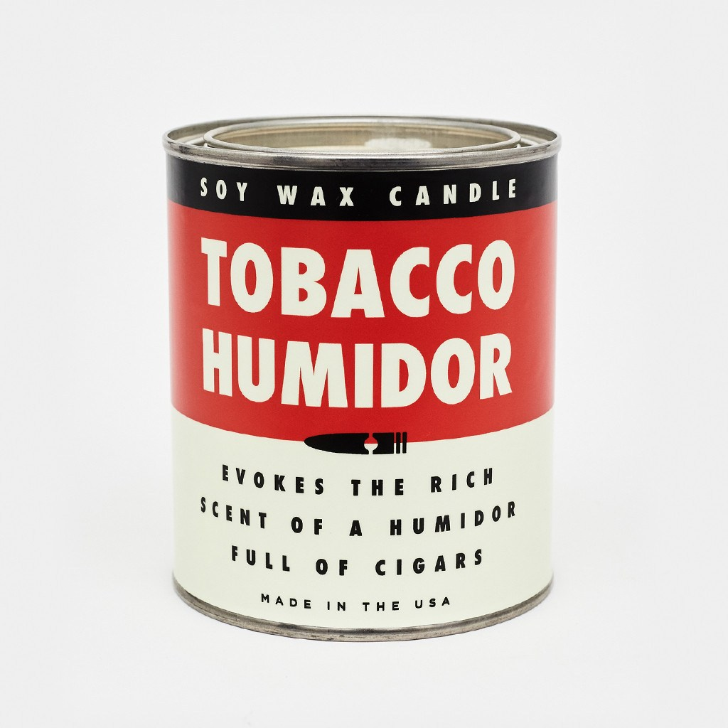 Tobacco Humidor Candle - Cool Material