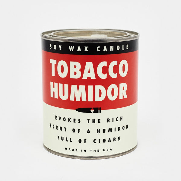 Cool Material Tobacco Humidor Candle