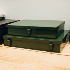 Tool Box - Military-Style Metal Stash Boxes (Set Of Two)