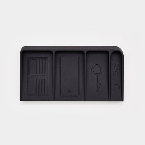 Valet - Black Metal Valet Tray