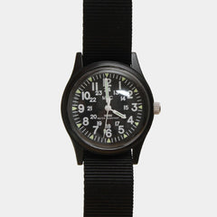 1960s US Vietnam Military Watch - Black