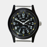 1960s US Vietnam Military Watch - Black - Cool Material