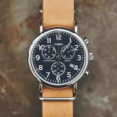 Timex Weekender Oversized Chrono Watch by Timex - Cool Material - 4