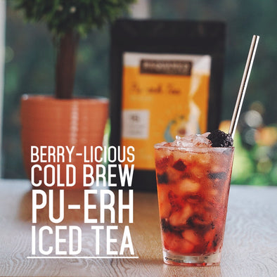 Berry-licious Cold Brew Pu-erh Iced Tea