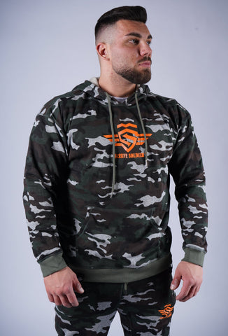 CAMO SOLDIER HOODIE