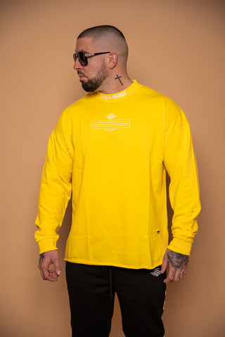 NXT LEVEL SWEATER YELLOW