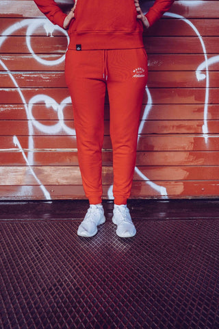 ATHLETICS JOGGER DAMEN RED - MassiveSoldier©