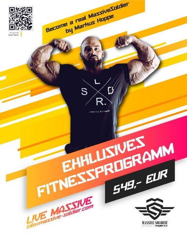 Become a real MassiveSoldier Fitnessprogramm by Markus Hoppe - MassiveSoldier©